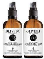 *Aktionspreis* Oliveda Reinigungsmilch F12 - 100ml + Gesichtswasser F11 - 100ml
