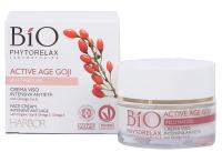 Bio Phytorelax Active Age Goji Intensive Anti-Age-Gesichtscreme (mit Omega 3 & Omega 6)