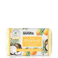 *Neu* LaVolta Shéa Feine Pflegeseife Orange Kokos 150g