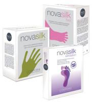 Novasilk Zellerneuerungsmaske für Hände (1 Paar)