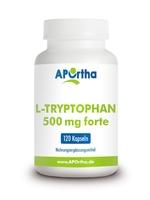 NordHit / Aportha L-Tryptophan forte 500mg 120 Kapseln (vegan)
