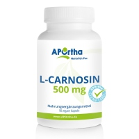 Nordhit / Aportha L-Carnosin 90 Kapseln mit 500mg/Kapsel (Cellulose)