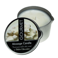 Gourmet Massagekerze White Chocolate (200 ml)