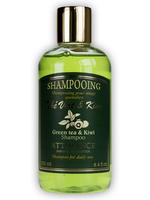 ATTIRANCE Shampoo Grüner Tee und Kiwi (für die tägliche Haarwäsche) - 250ml
