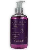 ATTIRANCE Flüssigseife Lavendel - 250ml für trockene Haut (mit Teebaumextract)