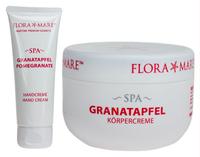 FLORA MARE Spa Granatapfel Körpercreme (300ml) + Handcreme (75ml)