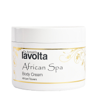 LaVolta Shéa Body Creme African Flowers (200ml) SP Außenhülle beschädigt