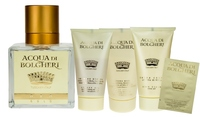 Dr. Taffi Acqua di Bolgheri GOLD 5tlg Set: EdP 80ml, Lotion (50ml), Duschgel (50ml), Handcreme (50ml), 1 Sachet Queen Face Cream