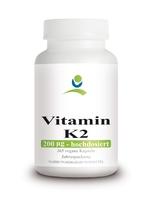 Nordhit / Aportha Vitamin K2 200 µg (MK-7 natürliches Menaquinon) - 365 Kapseln (Familiengröße)