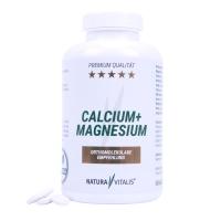 Natura Vitalis Calcium + Magnesium (240 Presslinge)- HOCHDOSIERT