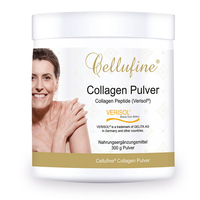 *Neu * Für 4 Monate: Cellufine® Premium Collagen Pulver mit Verisol® Collagen Peptiden - 300 g Pulver